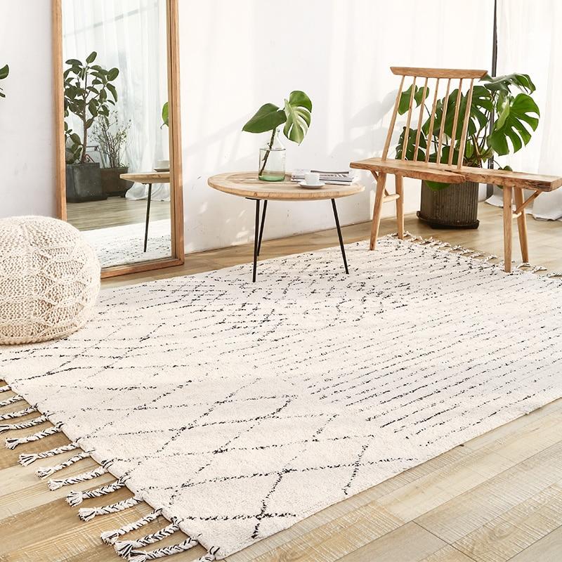 India Handmade Carpets Livingroom Turkey Nordic Home Bedroom