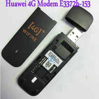 Huawei e3372 e3372h-153 4G LTE klucz USB pamięć USB Datacard mobilna łączność szerokopasmowa modemy USB Modem 4G Modem LTE