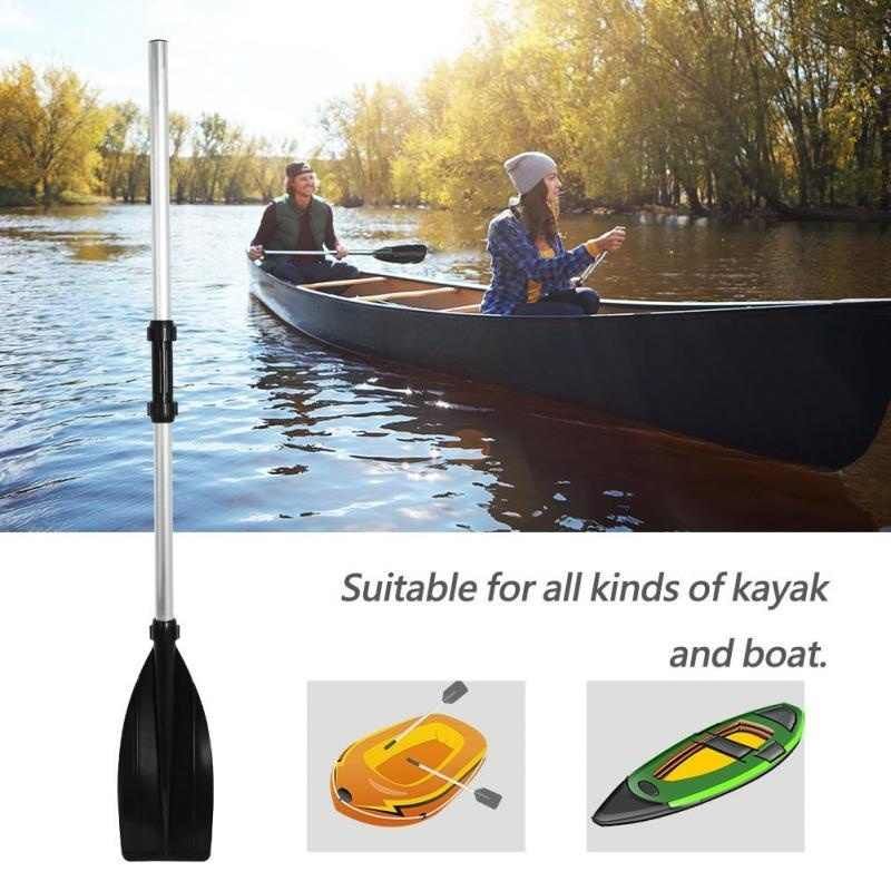 2Pcs Abnehmbare Montieren Verstärkt Aluminium Boot Beiboot Ruder Paddle Lange Ruder PVC Aufblasbare Boot Angeln Kajak Kanu Paddel