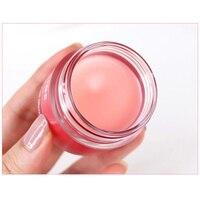Korea Lip mask Cream 20g Grape Fruit Essence Nutrious Lip Care Moisture Lip Balm with Lip Brush Smoothing Dryness 4