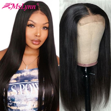 Lace Front Human Hair Wigs Straight I -