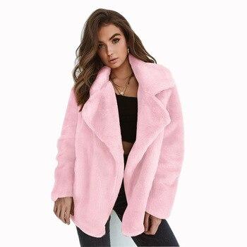 Οικολογικό γούνινο σακάκι Γυναικεία Παλτό Ρούχα MSOW