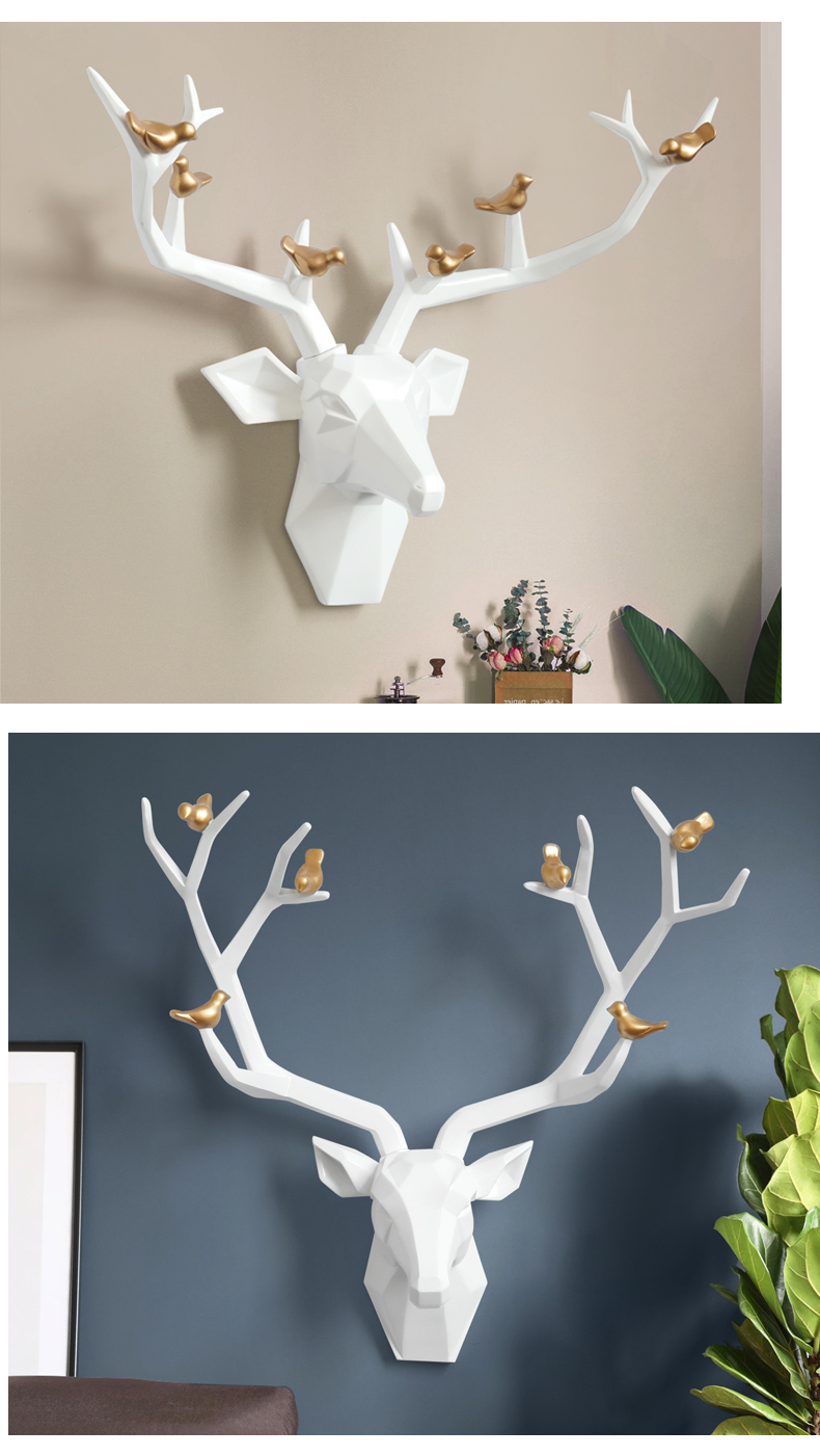 da parede para casa satue acessórios decoração