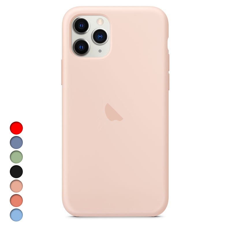Original Logo Silicone Case For iPhone X XS Max XR Case For Apple iPhone 7 8 Plus 6 6S Case For iPhone 11 Pro Max Cover Official