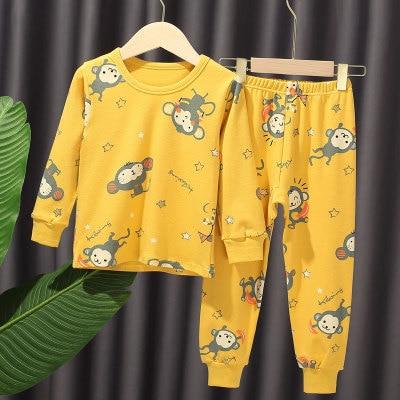 VIDMID New Children Pajamas Set Soft Cotton clothes suits  Cartoon Animal Sleepwear Boy Clothing Suit Pajamas Nightwear 4248 01 3