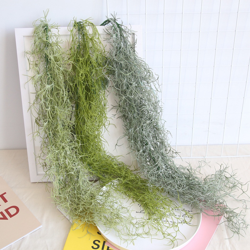 Greenery Wall Hanging Leaves Vine Plastic Fake Plants For Home Garden Wedding Garland Outdoor Decoration 91cm Artificial Plants