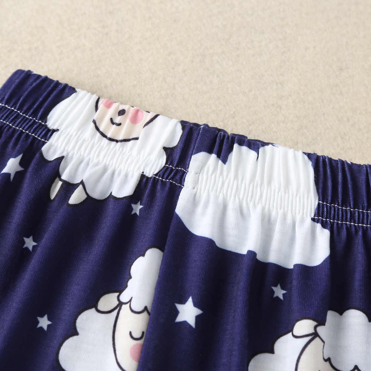 새로운 신생아 3 Pcs 유아 아기 소년 소녀 의류 세트 긴 소매 양 Romper 키즈 탑스 티셔츠 + 레깅스 바지 + 모자 복장 옷