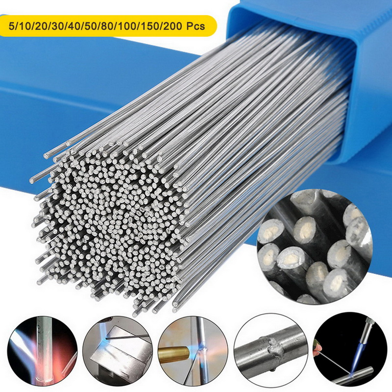 Aluminium Flux Cored Weld Low Temperature Simple Welding Rods Easy  For Aluminum Welding Soldering No Need Solder Powder
