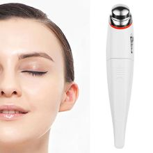 Electric Vibration Eye Massager Dark Circle Remover Multifunction Anti Wrinkle Lifting Firming Thin Lines Facial Massage Pen handheld ion vibration massage pen eye massager face skin firming mini portable anti aging wrinkle dark eye circle remover pen