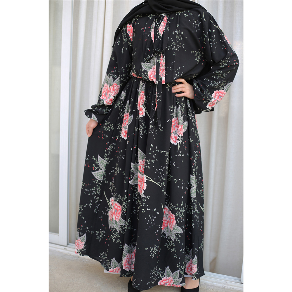 Vestidos Muslim Dress Plus Size Abaya Turkey Islamic Clothing Arabic Hijab Dresses Caftan Kaftan Moroccan Ramadan Robe Musulmane