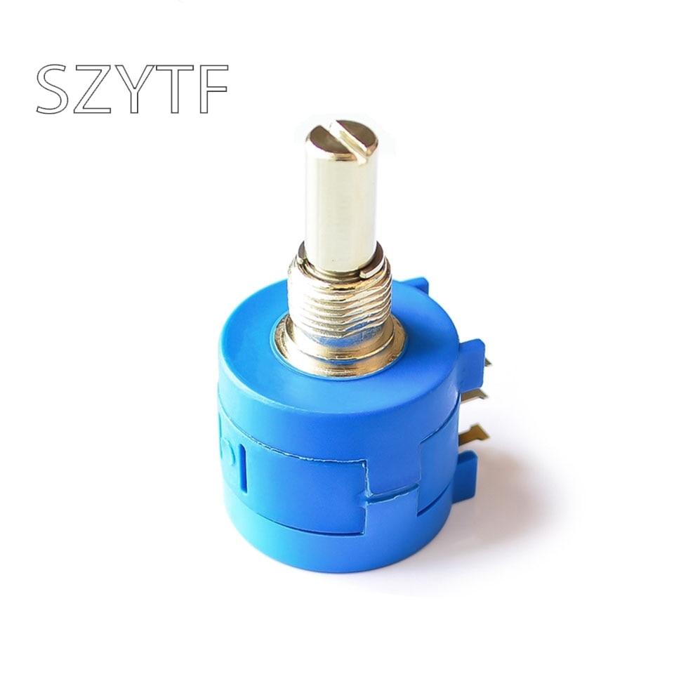 5 шт./пакет 3590S-2-102 1K Точность Многооборотная потенциометр с регулируемым сопротивлением