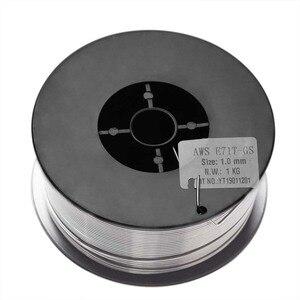 Image 3 - Alambre de soldadura Mig sin Gas, núcleo de fundente, E71T GS, herramienta de acero, 1kg, 0,8/0,9/1,0/1,2mm