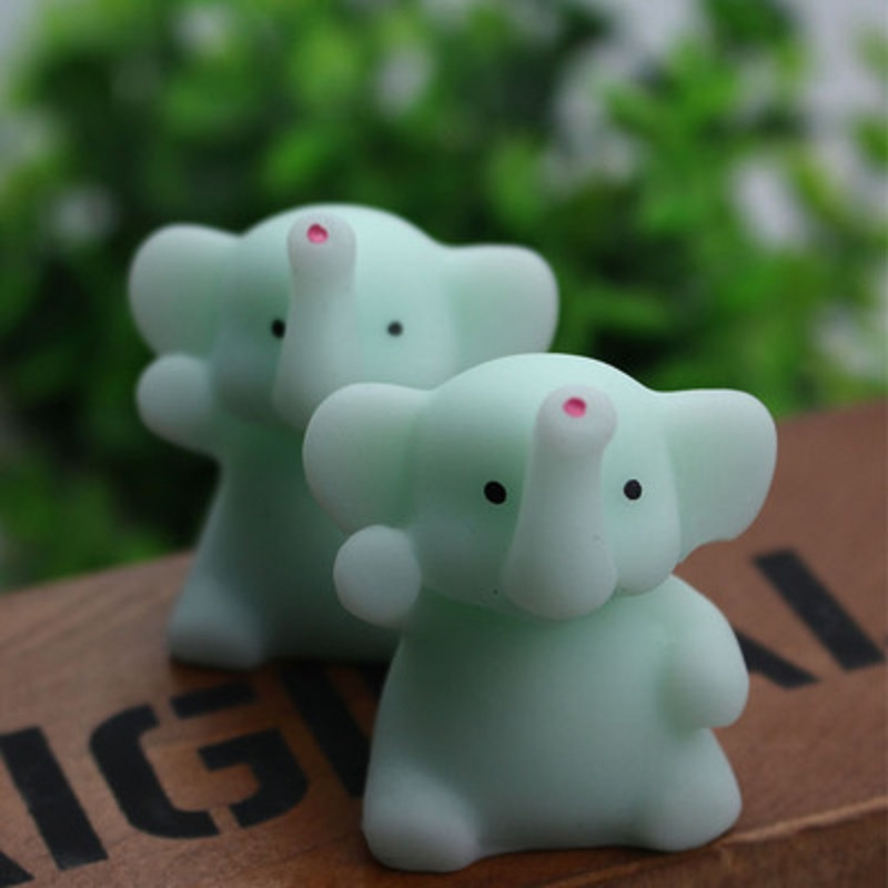 Mini Squishy Cute Elephantt Antistress Ball Squeeze Mochi Rising Abreact Soft Sticky Stress Relief Funny Toy Dropshipping J75