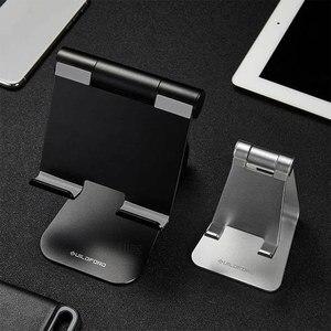 Image 5 - Suporte do telefone móvel tablet desktop suporte do telefone estável sem agitação de alumínio 7/12 polegadas para o escritório casa