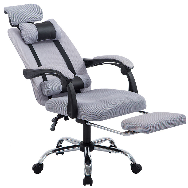Computer Chair Household To Work In An Office Chair Can Netting Cloth Staff Member Chair Concise Lift Chair