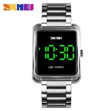 SKMEI wodoodporny męski zegarek LED męskie zegarki cyfrowe 2020 Top marka luksusowe męskie zegarki zegar Relojes Para Hombre 1505