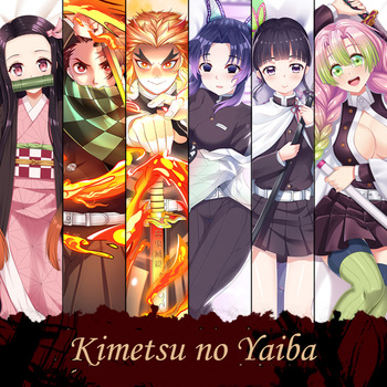 Cool Demon Slayer Kimetsu no Yaiba Dakimakura Anime Body Pillow Cover Case Sexy Hugging Waifu Otaku Cosplay Pillowcase Gift