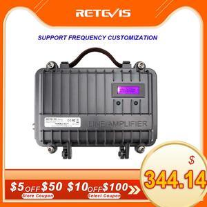 Image 1 - Tùy chỉnh Song Công Mini Đồng Hồ Đeo Tay Repeater RETEVIS RT97 2 Chiều Đài Phát Thanh Repeater 10W UHF (hoặc VHF) repeater Cho Bộ Đàm