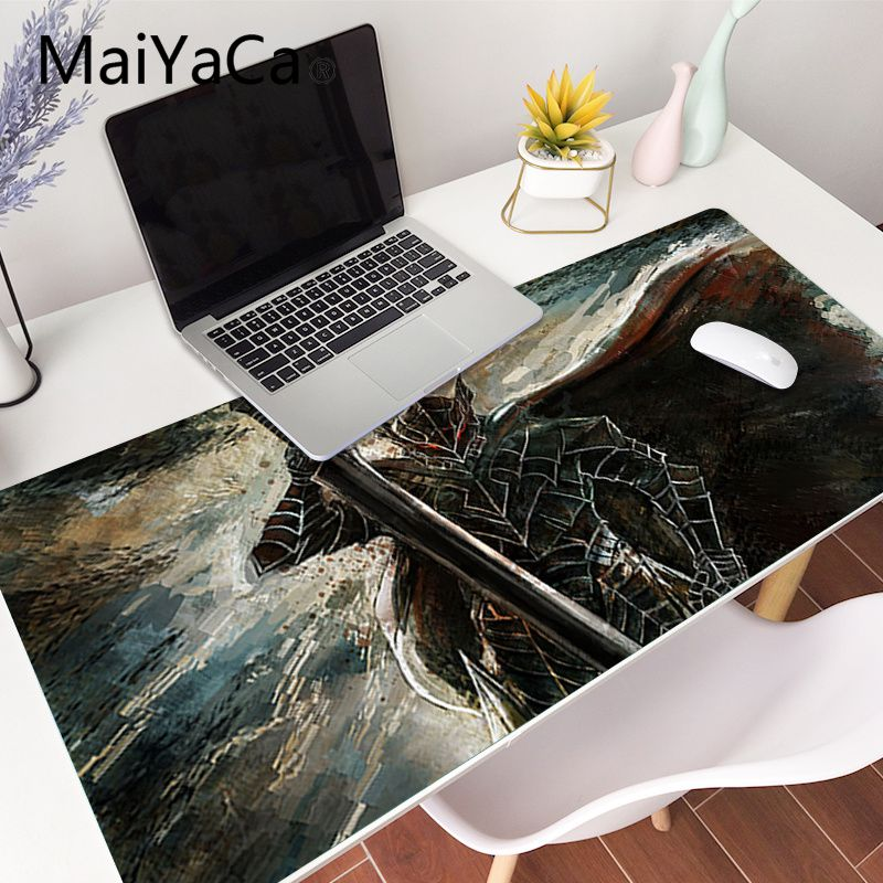 MaiYaCa Your Own Mats Berserk anime gamer play mats Mousepad Gaming Mouse Pad Large Deak Mat 700x300mm for overwatch/cs go