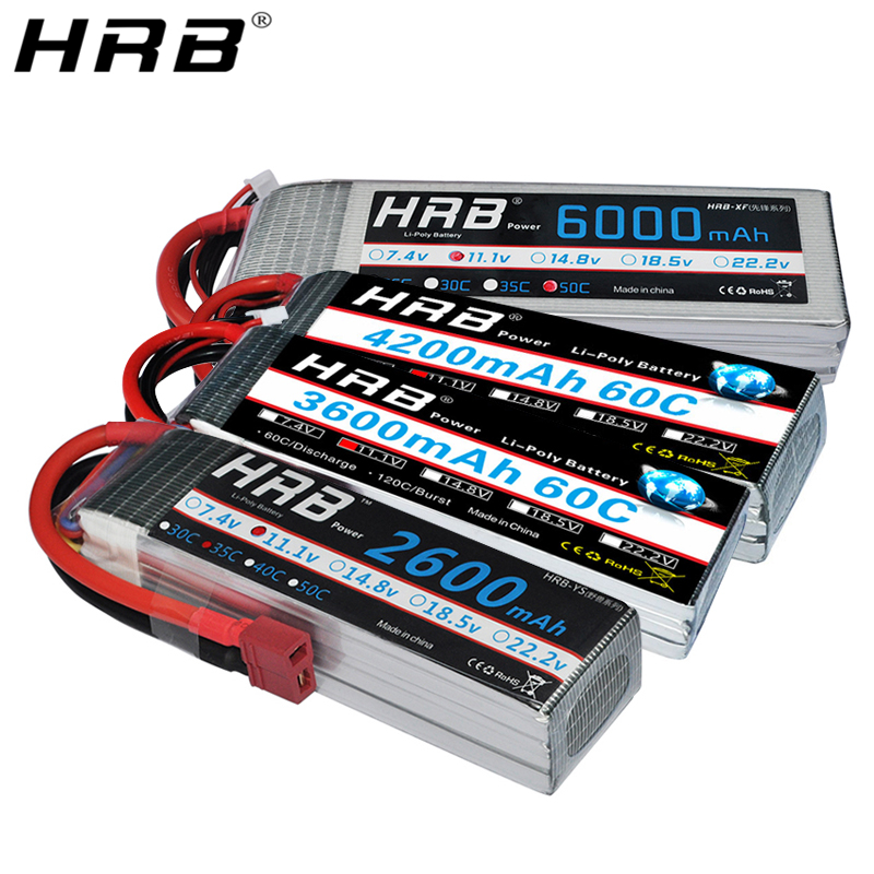 HRB 3S 11.1V 16000mAh 25C
