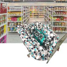 Детская корзина для покупок чехол для детского сидения обеденный высокий стул защитный коврик мягкий коврик H7EB