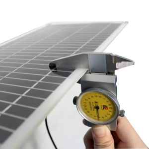 Image 4 - Semi flexible 10W 18V Portable Solar Panel with DC 5521 Cable For 12V Car