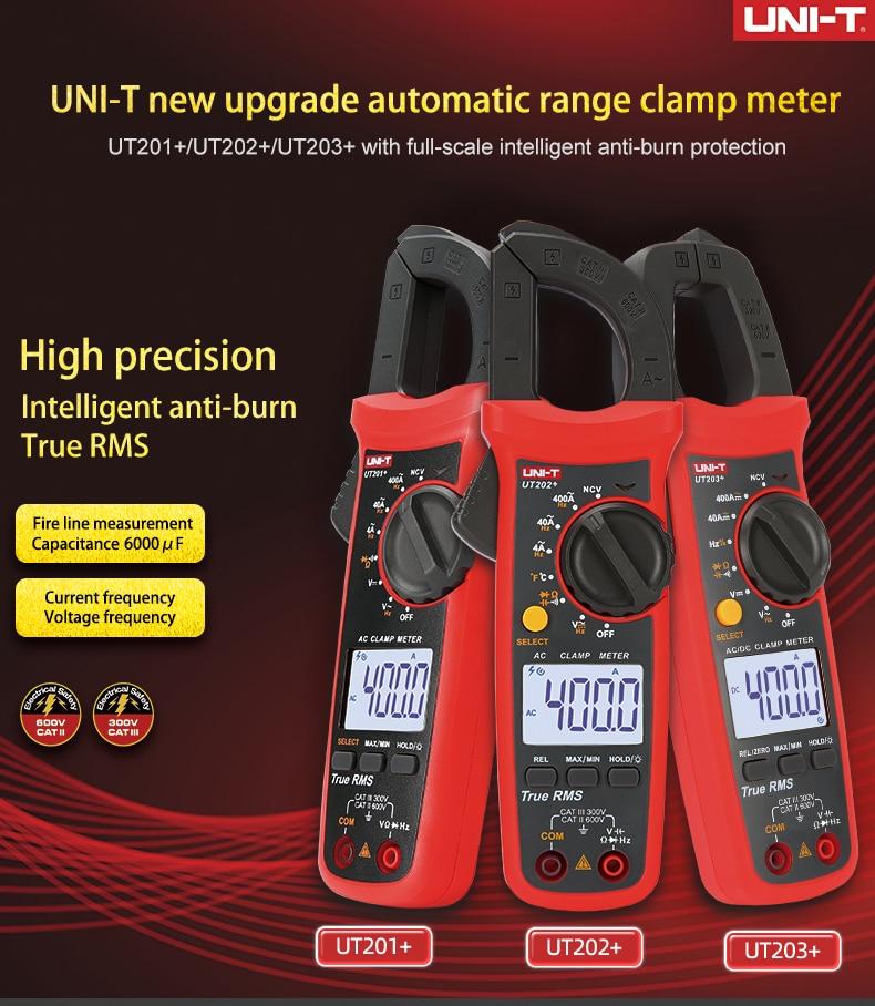 UNI T UNI T Digital Clampmeter Atual