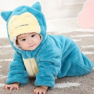 Image 2 - بدلة رومبير للأطفال حديثي الولادة ماركة نيسيي سورلاكس ملابس بناتية وأولادي بدلة للأطفال الرضع زي للحفلات