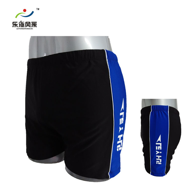 Le Yong Style New Style MEN'S Swimming Trunks Printed Fei Lao Chao Fertilizer Swimming Trunks Pool Hot Springs Swimming Trunks A