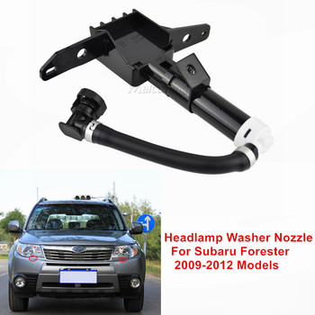 For Subaru Forester III 2009 2010 2011 2012 Car Left/Right Front headlight Headlamp Water Nozzle Spayer 86636-SC000 86636-SC010 image