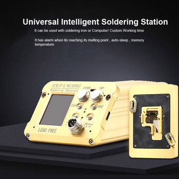Lead Free Soldering Station Intelligent Temperature Control Tin Planting Mainboard Layered Heating Table for iPhone X XS MAX
