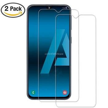 2 uds de vidrio templado para Samsung Galaxy A30 A50 Protector de pantalla 9H seguridad película protectora en A70 A40 A60 a90 M10 M20 M30 A10