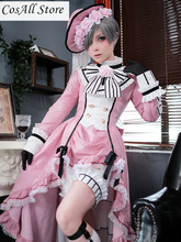 Black Butler Anime Cosplay robin Ciel Cosplay Costume(China)