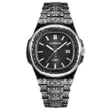 Big Brand Luxury Watch Mens Stainless Steel Band Date Quartz