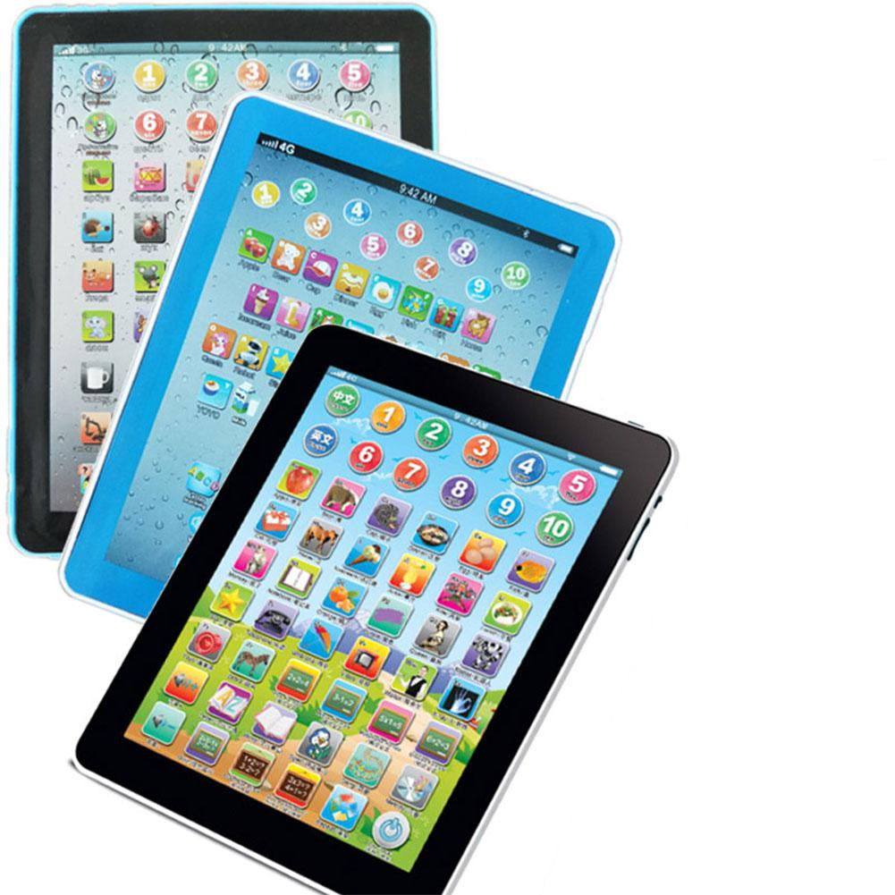 Tablet Pad Computer for Kid Children Learning English Educational Teach Toy Gift image