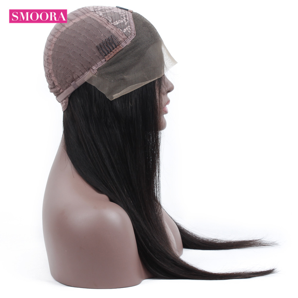 13x4 Lace Front  Wigs  150% Density   Straight Hair Lace Frontal Wigs With Baby Hair Smoora 4