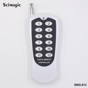 Image 3 - 433MHz Wireless Telecomandi e Controlli da remoto RF Trasmettitore 12 Bottoni Lavora con 433MHz Relè Ricevitore