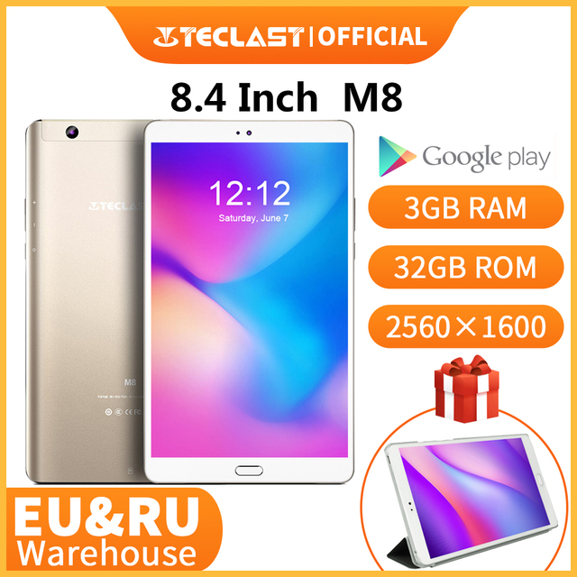 8.4 inch tablets teclast m8 android tablet netbook 3gb ram 32gb rom 2560×1600 quad core tablets dual wifi gps dual camera