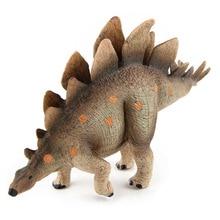 Импортные товары, большой размер, ПВХ модель динозавра Стегозавра, детская игрушка
