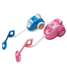 Детский игрушечный пылесос мини малыш уборка дома пуш ап реальный