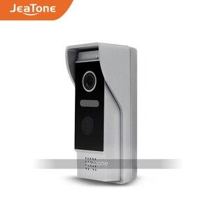 Image 4 - Jeatone visiophone avec écran tactile de 7 pouces, wi fi IP, interphone vidéo pour 4 appartements séparés, compatible télécommande par téléphone