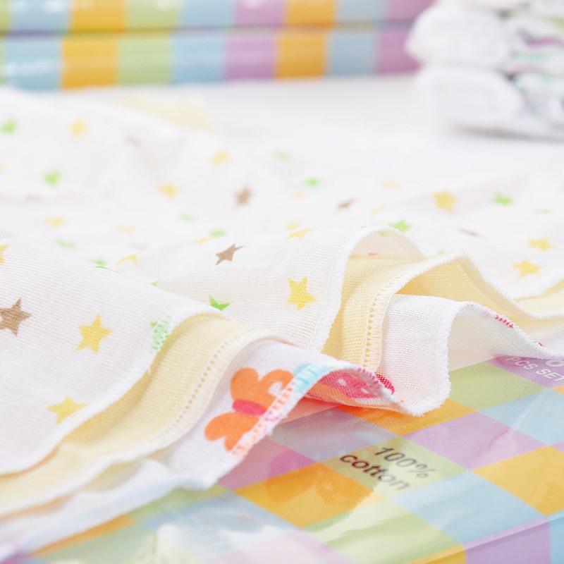 8pcs / lot 100% Cotton Newborn Baby Towel Saliva Towel Nursing Handuk - Penjagaan bayi - Foto 6