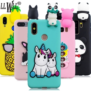 Unicorn Cartoon Case For Honor 10i 20i 8A 8S 8C 8X 8 X 9 10 Lite Toys Cover For Huawei P Smart Z 2019 Honor 8S Case For Honor 8A(China)