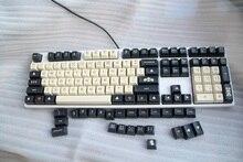 1 комплект материал АБС-пластик кости Цвет SA профиль ключ Шапки для MX Настенные переключатели механическая клавиатура углерода клавиши