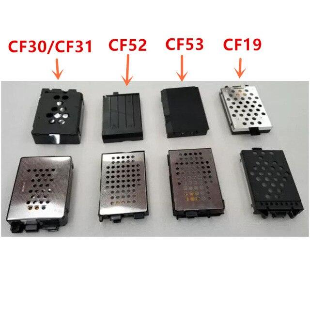 Portátil cf19 disco duro SATA HDD Caddy Toughbook CF-19 CF30 CF31 CF52 CF53 SATA unidad de disco duro HDD caso con adaptador de Cable