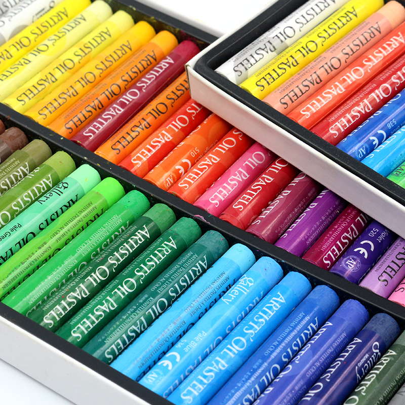 Soft Oil Pastels Set Pastel Crayons Drawing Pens For Student Creative Graffiti Painting School Drawing Pen Supplies Stationery