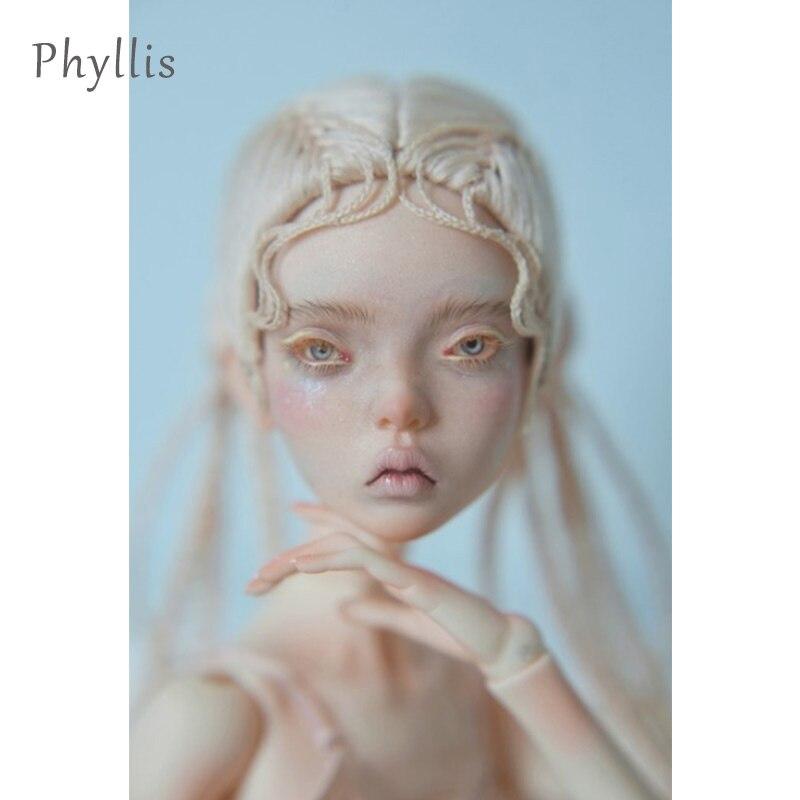 Freedomteller 1/4 phyllis beth kunis boneca bjd sd 39.5cm dollenchanted menina esbelta corpo ecotown popovy lillycat