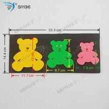 Высекальная штамповка Bear muyu новые деревянные высекальные штампы для скрапбукинга S1136