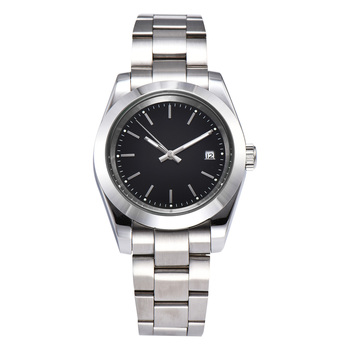 Free Shipping Hand Sapphire Glass Automatic 40mm Men's Automatic Movement Stainless Steel Bracelet Luminous Hands GL8