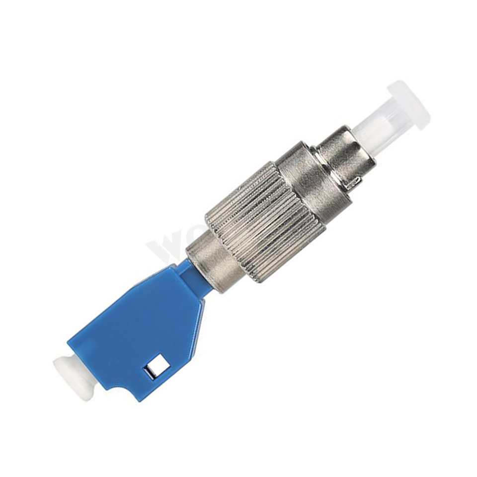 VFL Single Mode 9//125um FC Male to LC Female Adapter 2.5mm to 1.25mm Hybrid Fiber Optical Convertor Adapter for Optical Power Meter Visual Fault Locator